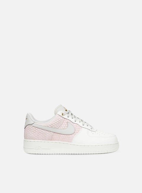 sneakers nike air force 1 07 lv8 sail light bone metallic gold