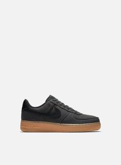 Nike - Air Force 1 07 LV8 Style, Black/Black/Gum Medium Brown