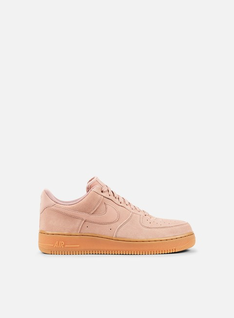 sneakers nike air force 1 07 lv8 suede particle pink particle pink