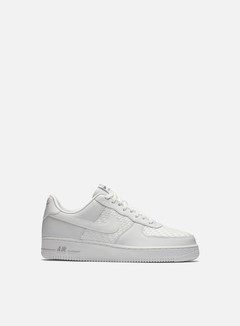 Nike - Air Force 1 07 LV8, Summit White/Summit White/Chrome 1