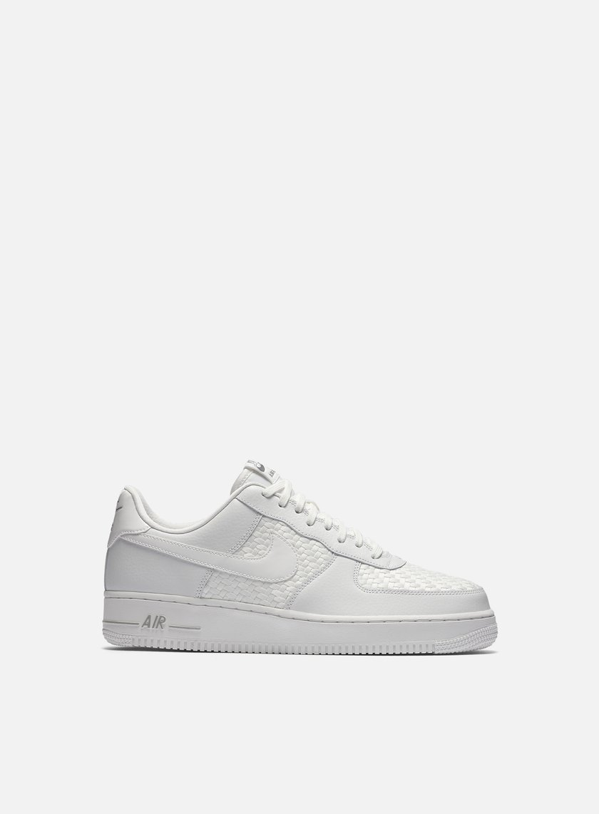 Nike - Air Force 1 07 LV8, Summit White/Summit White/Chrome