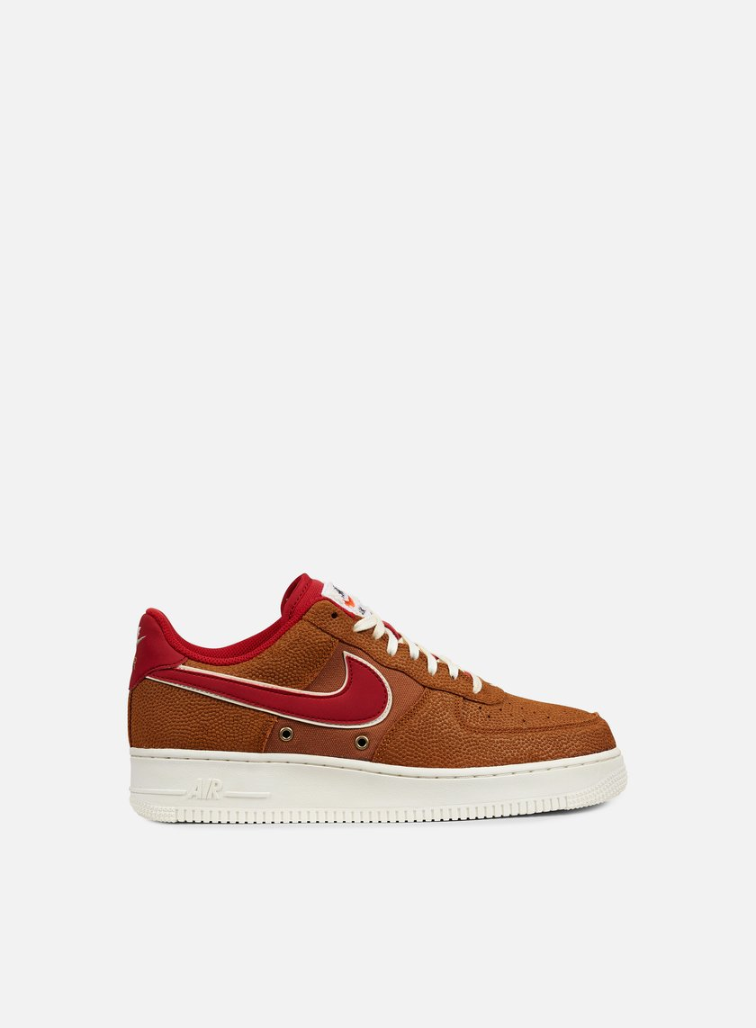 Nike - Air Force 1 07 LV8, Tawny/Gym Red