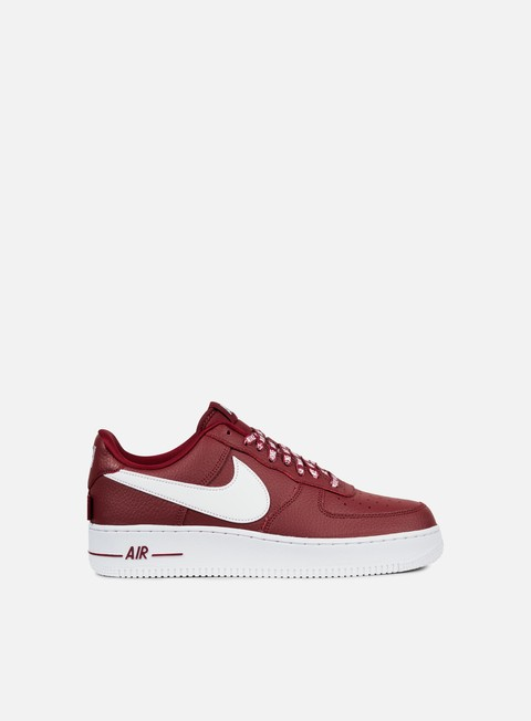sneakers nike air force 1 07 lv8 team red white