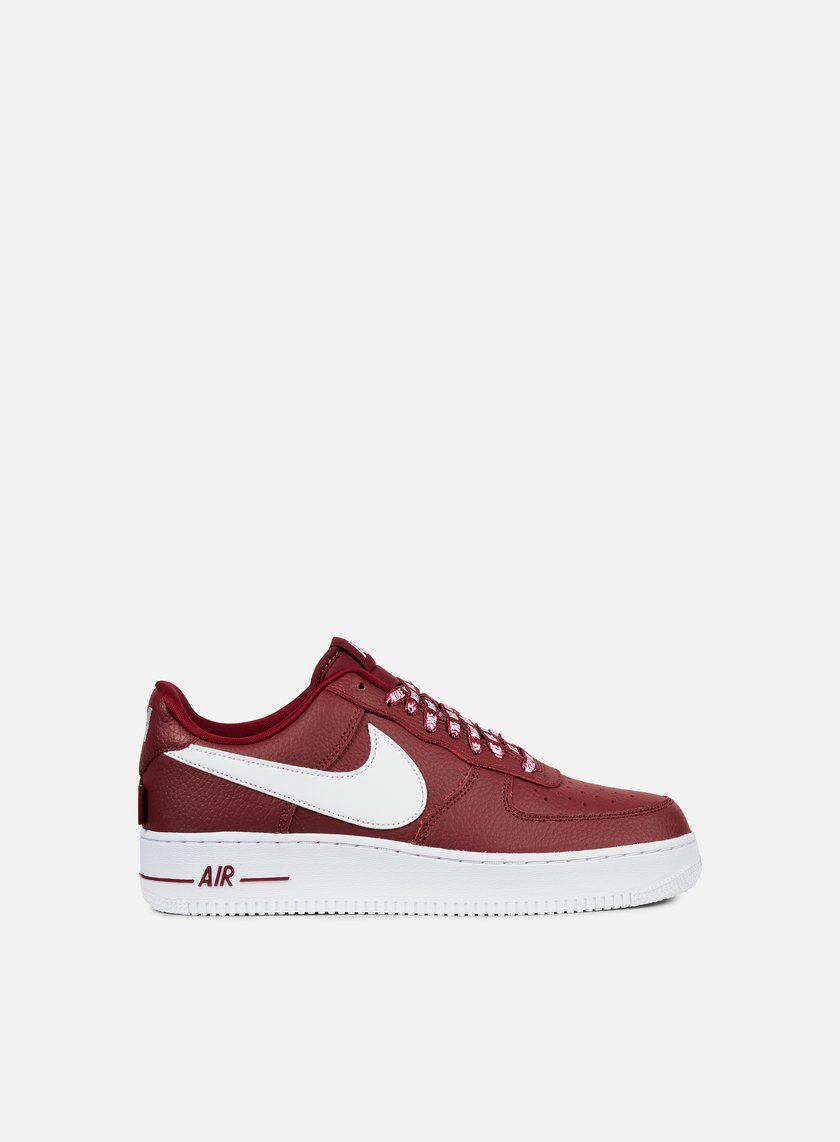 Nike - Air Force 1 07 LV8, Team Red/White