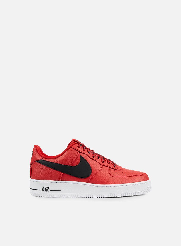 Nike - Air Force 1 07 LV8, University Red/Black/White