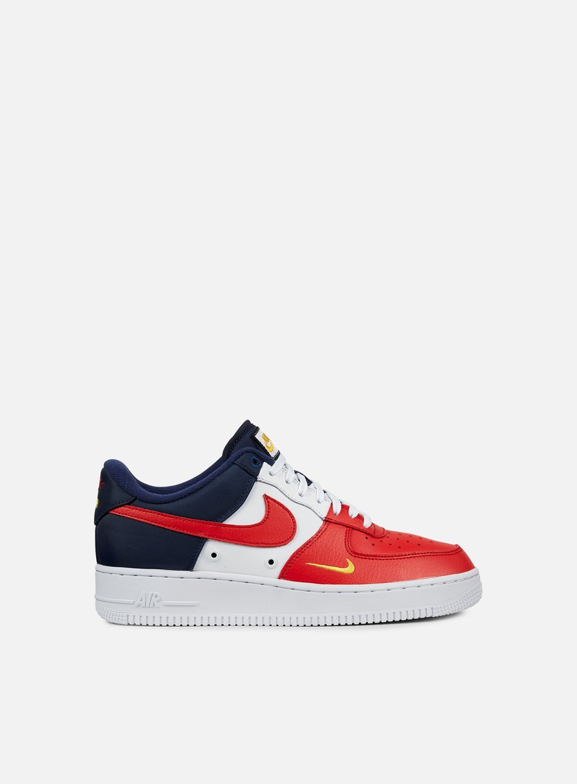Nike - Air Force 1 07 LV8, University Red/University Red