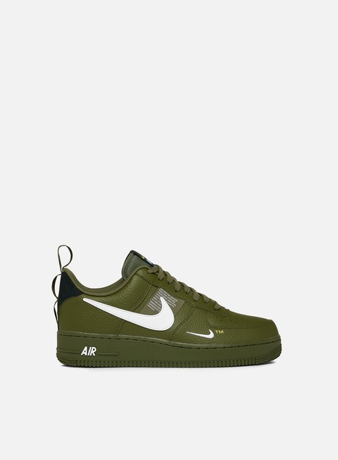 sneakers nike air force 1 07 lv8 utility olive canvas white black