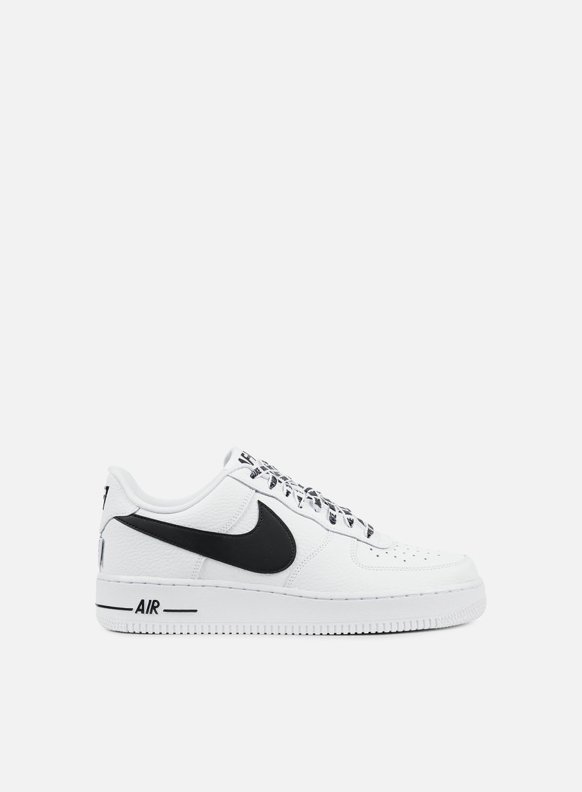 nike air force 1 07 lv8 white black 76 30 823511 103 sneakers low graffitishop. Black Bedroom Furniture Sets. Home Design Ideas