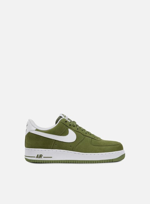sneakers nike air force 1 07 palm green white