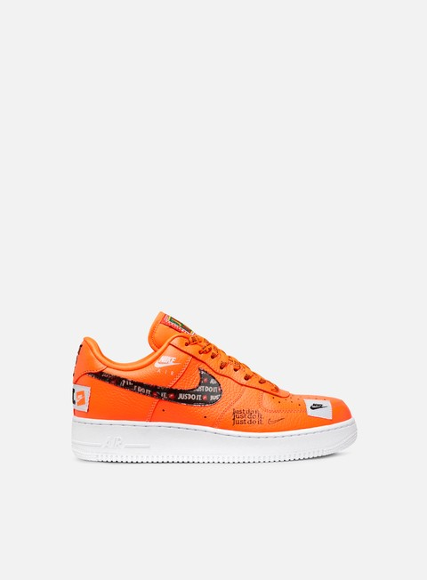 sneakers nike air force 1 07 prm jdi total orange total orange black white