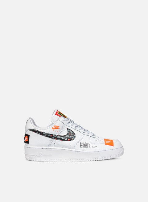 sneakers nike air force 1 07 prm jdi white white black total orange
