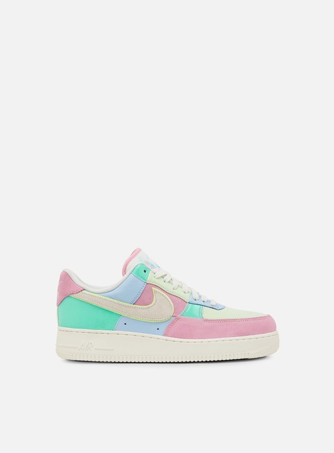 sneakers nike air force 1 07 qs ice blue sail hyper turq barely volt
