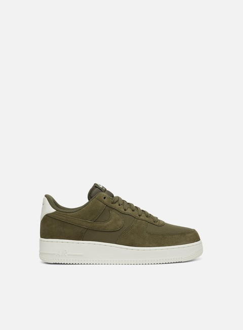 sneakers nike air force 1 07 suede medium olive medium olive sail