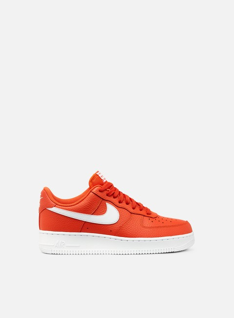sneakers nike air force 1 07 team orange white