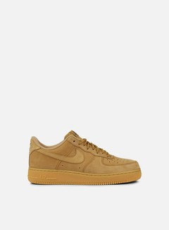 Nike - Air Force 1 07 WB, Flax/Flax/Outdoor Green 1