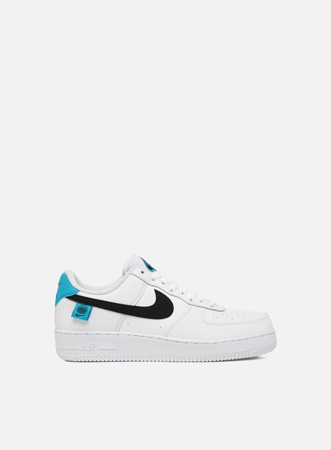 air force 1 uomo nere e blu