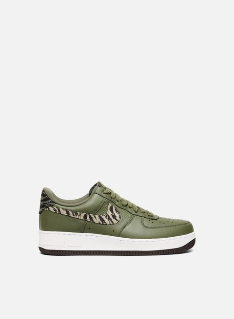sneakers nike air force 1 aop prm medium olive khaki