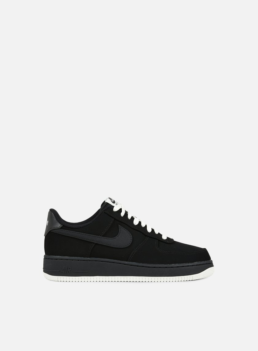 Nike - Air Force 1, Black/Black/Sail