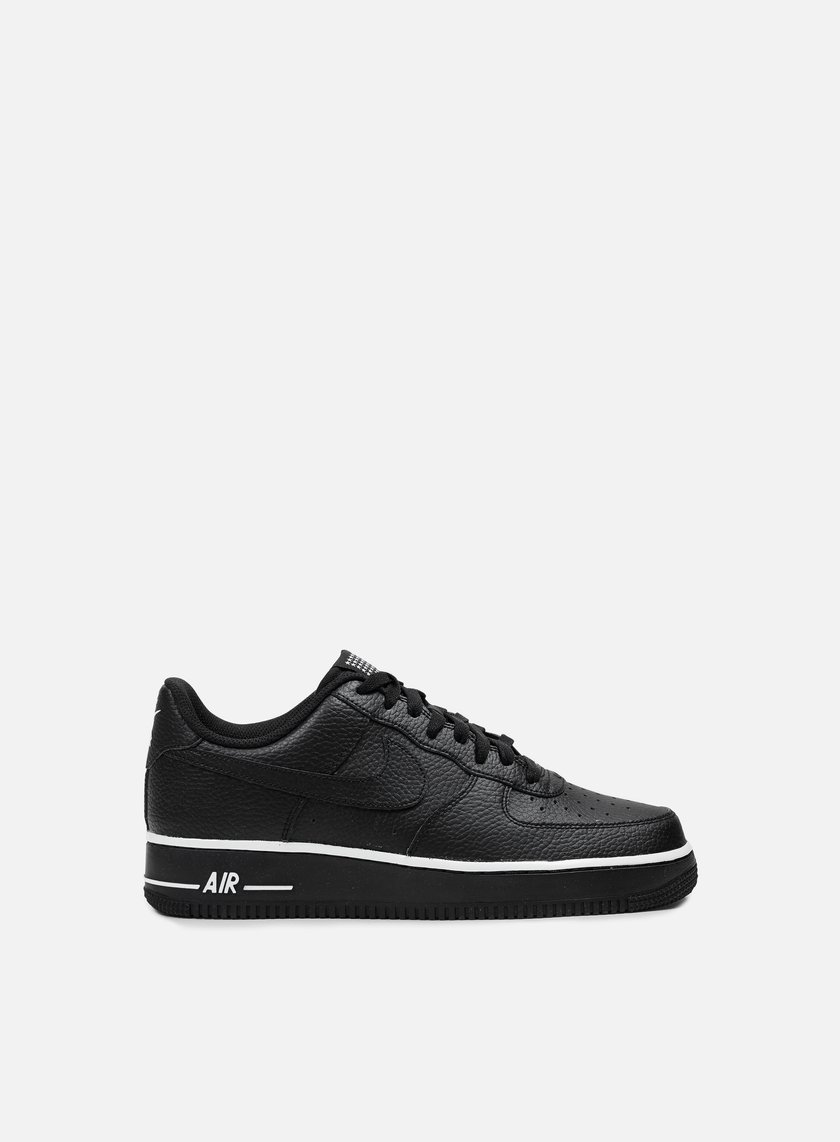 Nike - Air Force 1, Black/Black/White