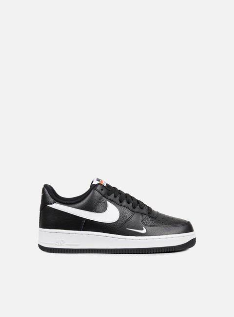 sneakers nike air force 1 black white white