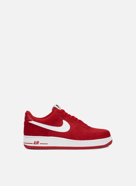 sneakers nike air force 1 game red white