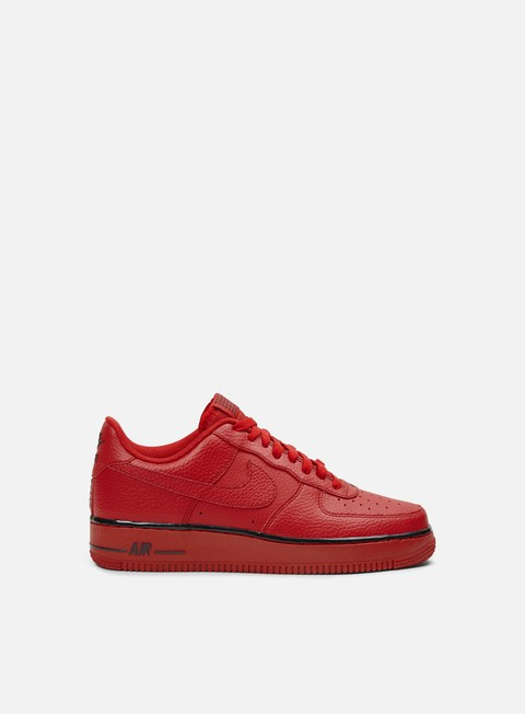 sneakers nike air force 1 gym red gym red black