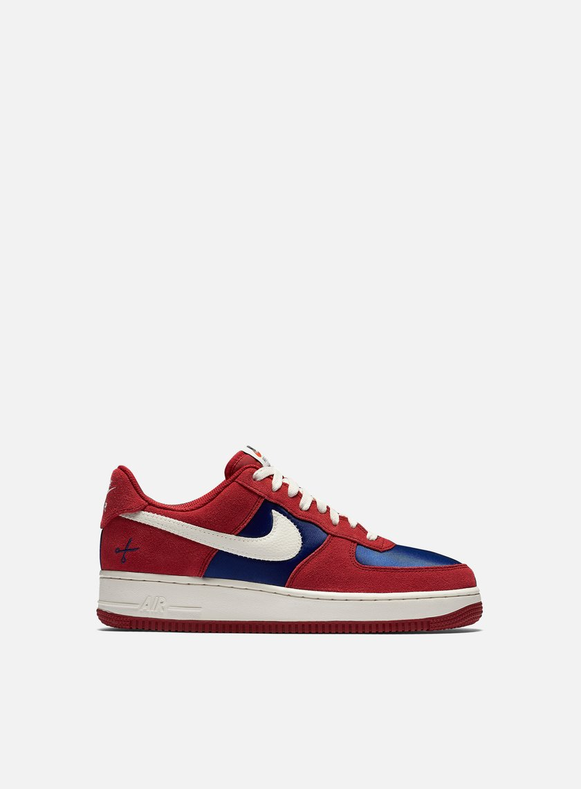 Nike - Air Force 1, Gym Red/Sail/Deep Royal Blue