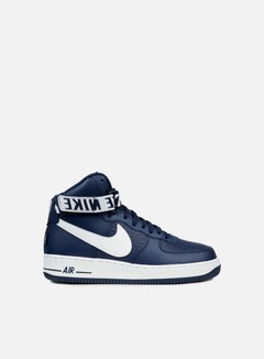 Nike - Air Force 1 High 07, College Navy/White