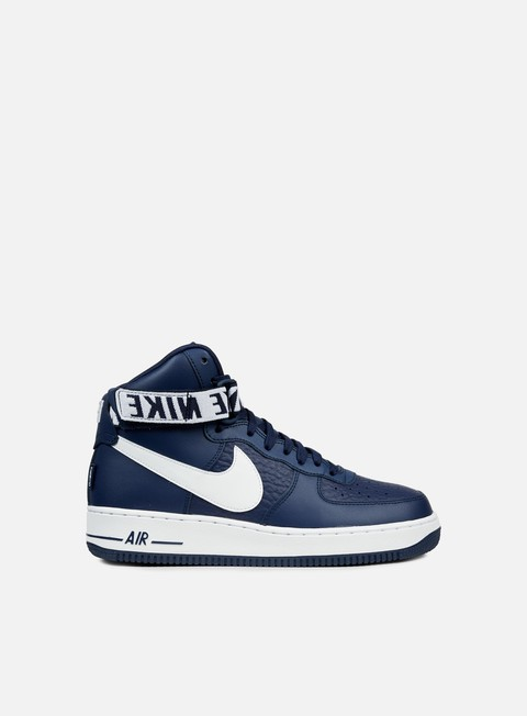 sneakers nike air force 1 high 07 college navy white