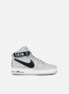 Nike - Air Force 1 High 07, Flat Silver/Black/White 1