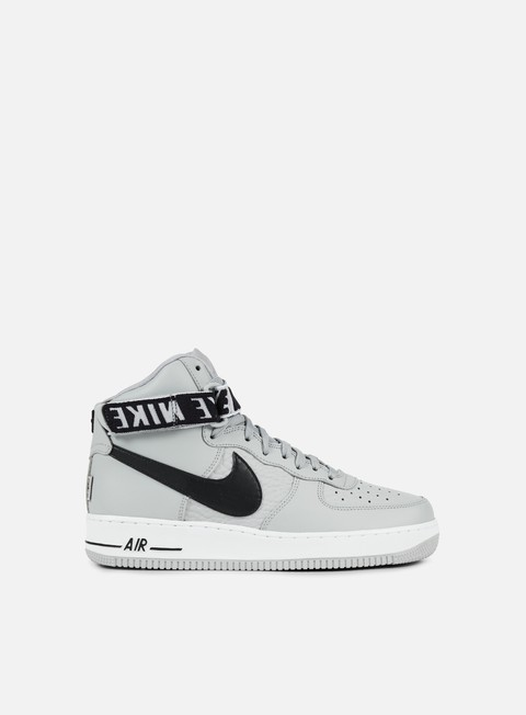 sneakers nike air force 1 high 07 flat silver black white