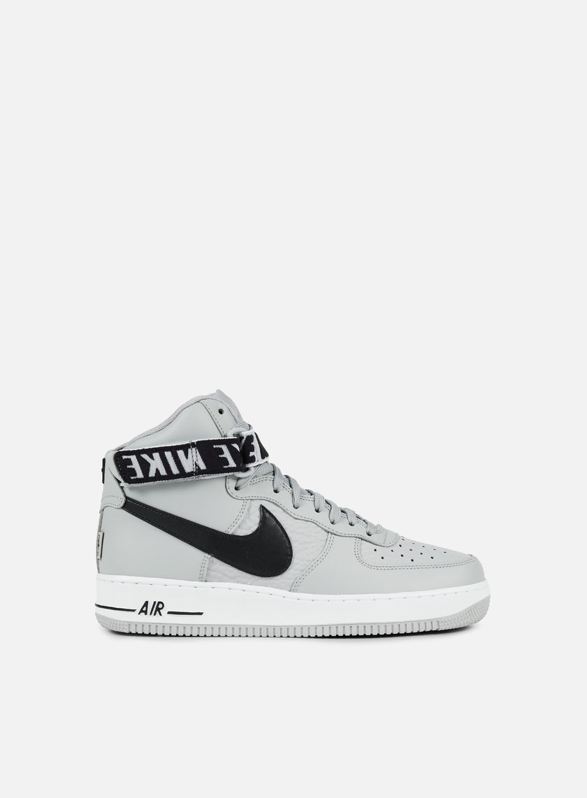 ... Nike - Air Force 1 High 07, Flat Silver/Black/White 1 ...