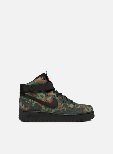 Nike Air Force 1 High 07 Lv8 Men Alligator Black Safari Patina