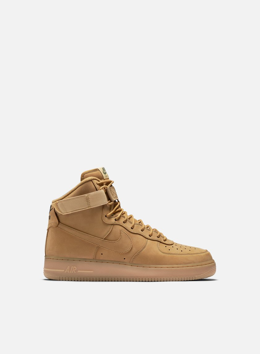 Nike - Air Force 1 High 07 LV8, Flax/Flax/Outdoor Green