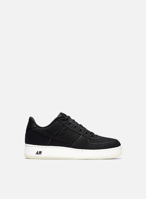 sneakers nike air force 1 low retro qs cnvs black black summit white