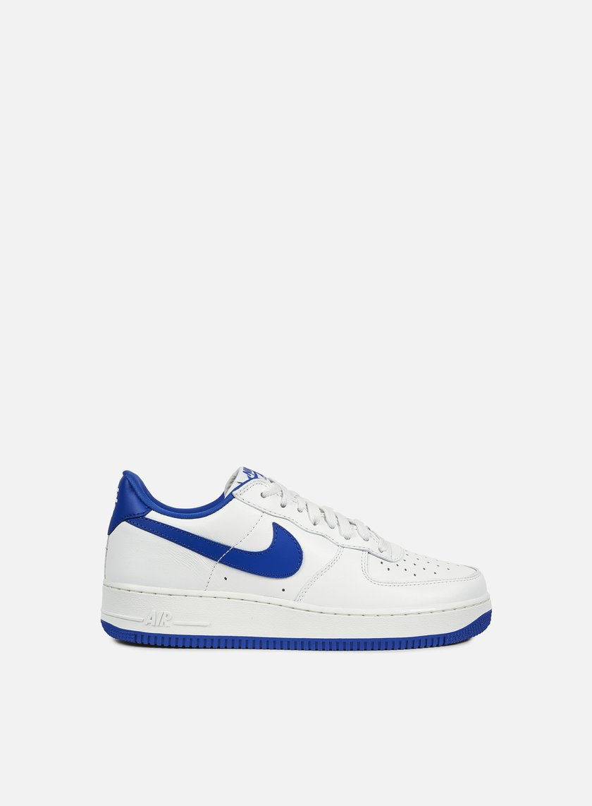 Nike - Air Force 1 Low Retro, Summit White/Game Royal