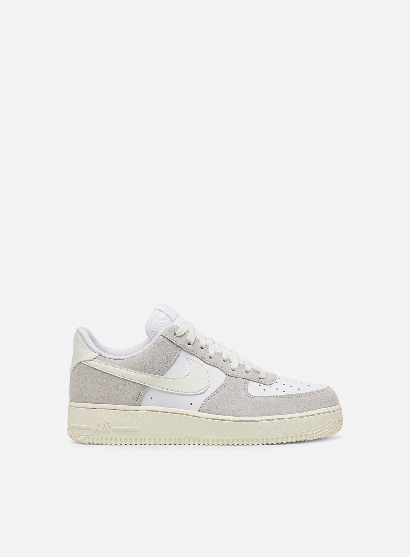 Nike Men Air Force 1 LV8 white sail platinum tint CW7584 100
