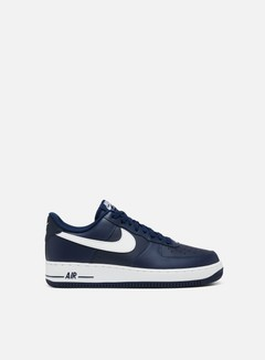 Nike - Air Force 1, Midnight Navy/White/Midnight Navy