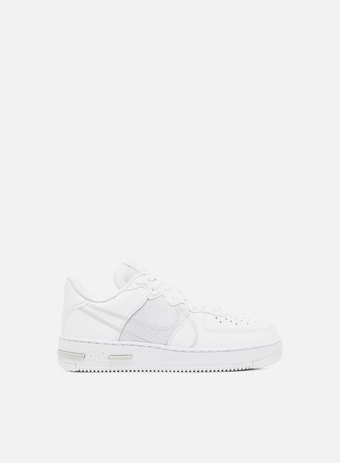 nike air force 1 react sneakers bianche da uomo