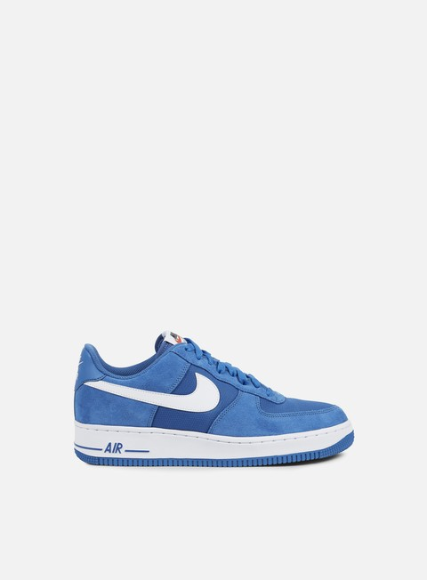 sneakers nike air force 1 star blue white