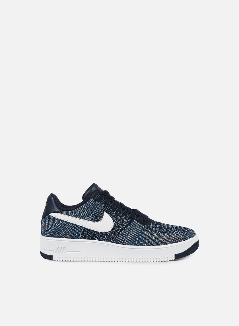 Nike - Air Force 1 Ultra Flyknit Low, Obsidian/White/Star Blue