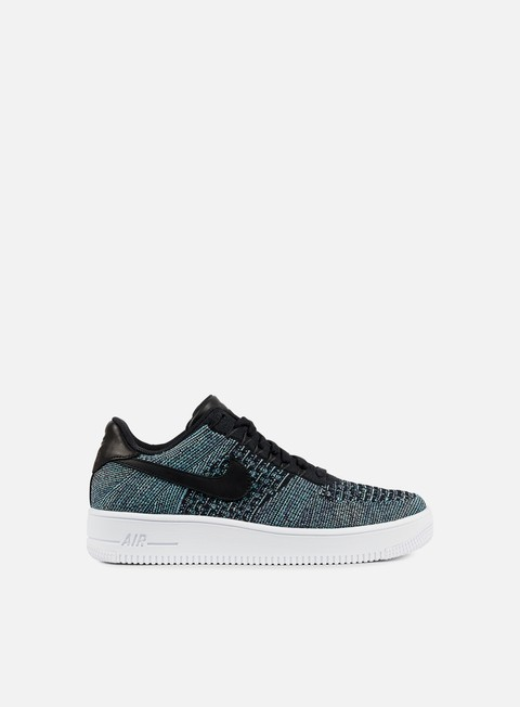 sneakers nike air force 1 ultra flyknit low qs vapor green black white