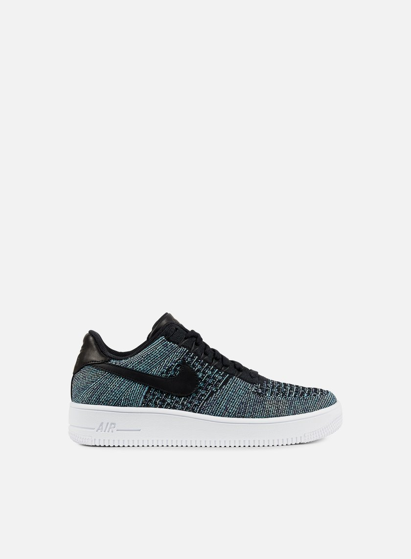 Nike - Air Force 1 Ultra Flyknit Low QS, Vapor Green/Black/White