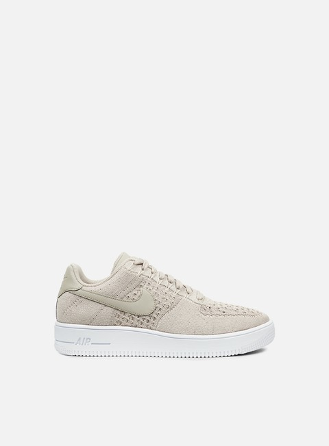 sneakers nike air force 1 ultra flyknit low string string white