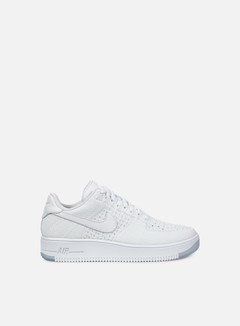Nike - Air Force 1 Ultra Flyknit Low, White/White/Ice 1