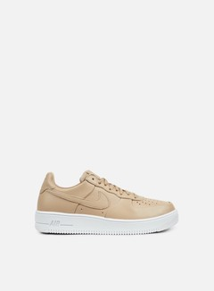 Nike - Air Force 1 Ultraforce Leather, Linen/Linen/White 1