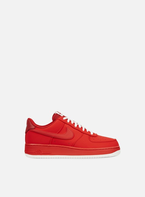 sneakers nike air force 1 university red university red