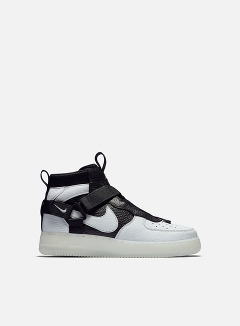 nike air force 1 alte uomo grigie