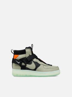 Nike - Air Force 1 Utility Mid, Spruce Fog/Black/Frosted Spruce