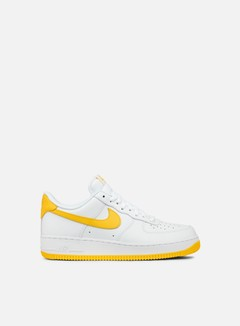 Nike - Air Force 1, White/Varsity Maize